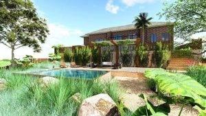 Blue Mountains house landscape design simpla designs