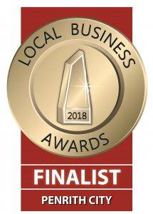 2018 local business awards finalist blue mountains penrith