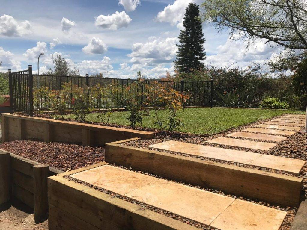 Sloping Backyard Landscape Ideas - Fresh Perspective ... on Retaining Wall Ideas For Sloped Backyard id=49349