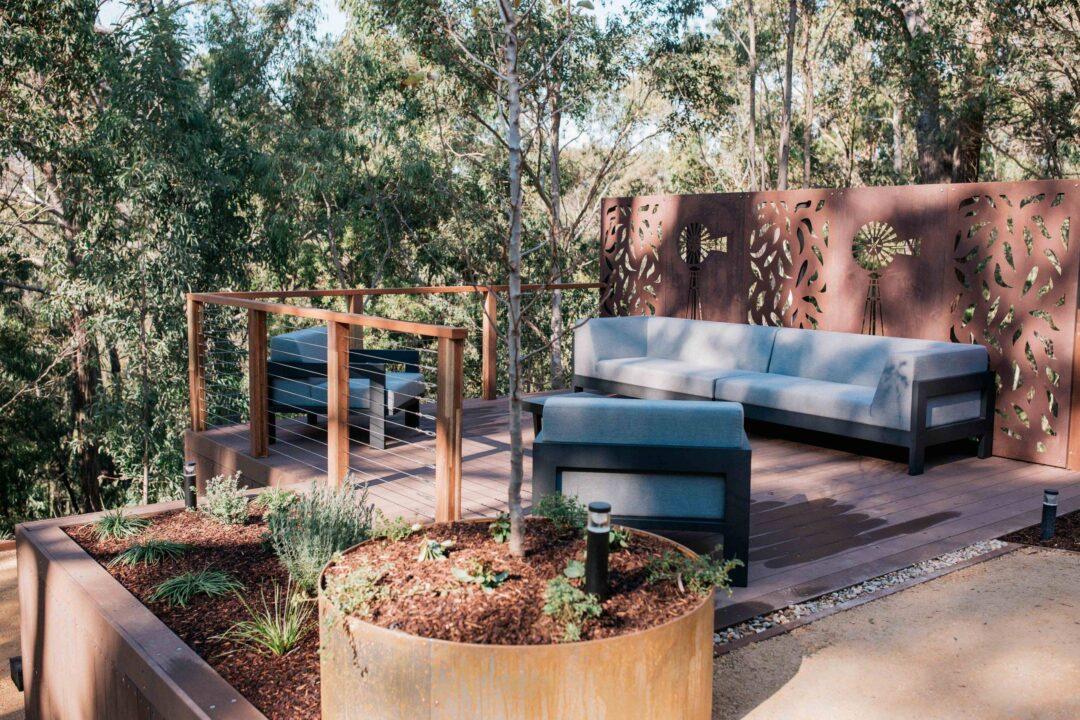 Benefits of using Corten Steel in the garden