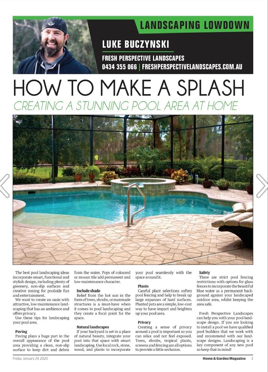Designing a Pool Area