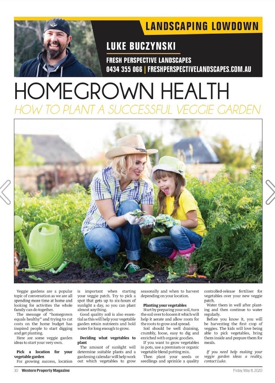 Build your own Veggie Garden