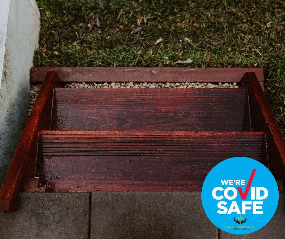 Covid Safe Landscape construction
