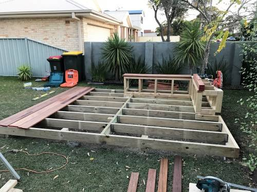 Sanctuary Point Project Deck And Bench Seat Fresh