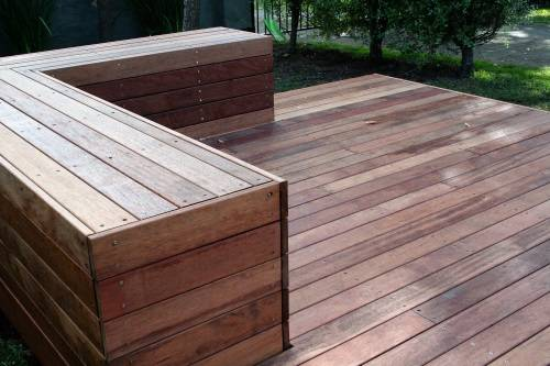 Sanctuary Point project - deck and bench seat - Fresh