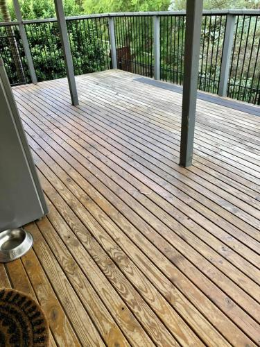 Timber deck replaced with Ekodeck