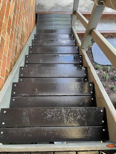 Ekodeck timber staircase renovation
