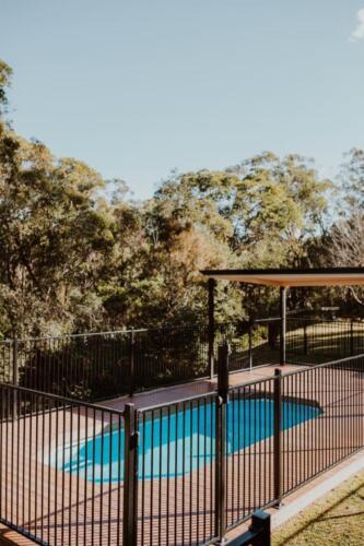 Warrimoo Pool Deck Construction Ekodeck and Pergola