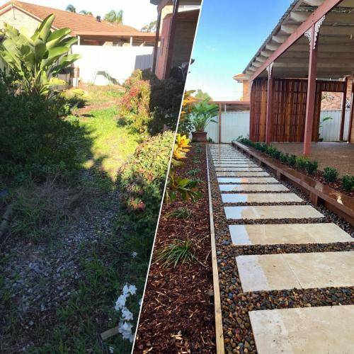Abbotsbury fresh perspective landscapes structural landscaping blue mountains landscape construction timber screen paving excavation pots retaining wall planting 1 small