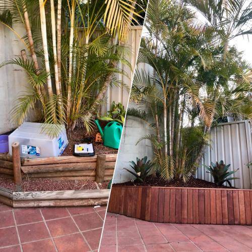 Abbotsbury fresh perspective landscapes structural landscaping blue mountains landscape construction timber screen paving excavation pots retaining wall planting 5 small