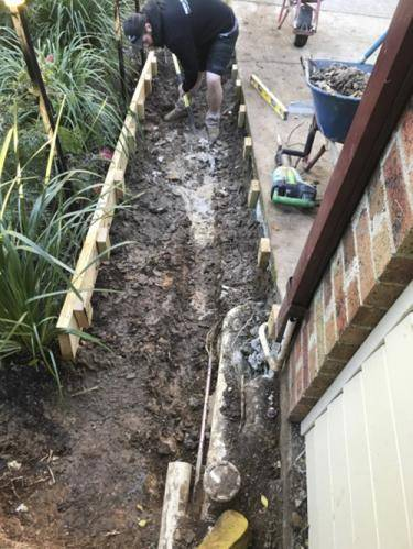 Concrete Stairs Sloping Block fresh perspective landscapes emu plains side access