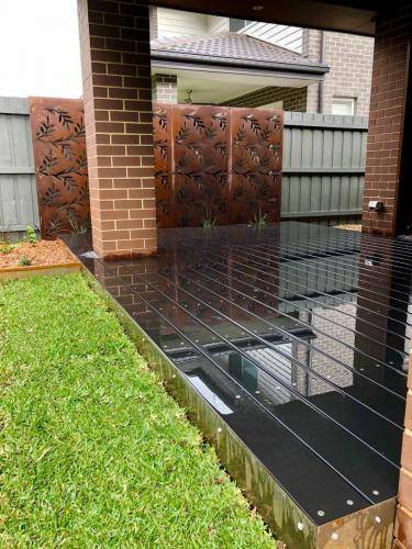 Corten Screen Cranebrook