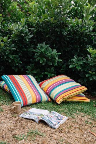 cosy outdoor nook cushions
