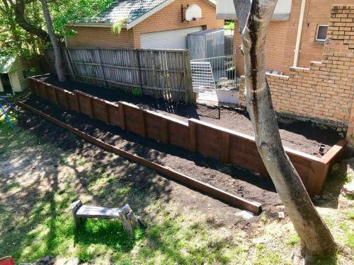 Fresh Perspective Landscapes Blue Mountains Landscaping Blaxland Landscaper Structural Retaining Wall Timber work 5
