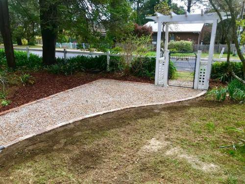 Fresh Perspective Landscapes Structural Landscaping Quality Blue Mountains Wentworth Falls Pathway Garden Edging Landscaper 2
