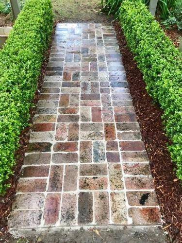 Fresh Perspective Landscapes Structural Landscaping Quality Blue Mountains Wentworth Falls Pathway Garden Edging Landscaper 8
