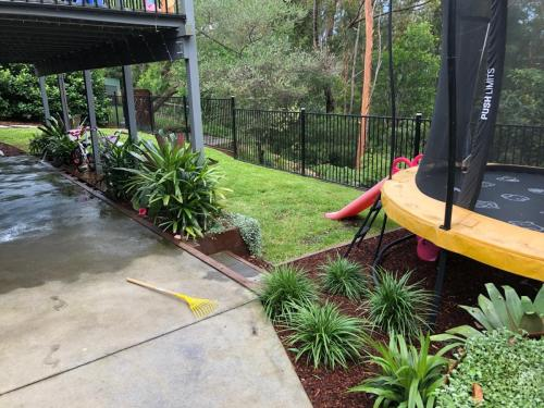 Fresh Perspective Landscapes Winmalee Blue Mountains landscape construction sloping block retaining paving timber stone wall terrace garden design 21