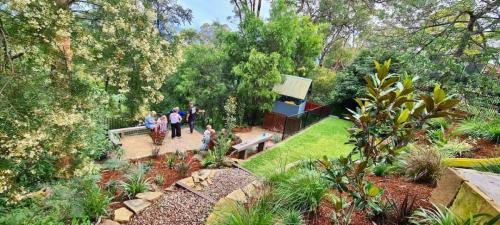 Fresh Perspective Landscapes Winmalee Blue Mountains landscape construction sloping block retaining paving timber stone wall terrace garden design 23
