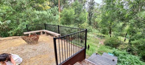 Fresh Perspective Landscapes Winmalee Blue Mountains landscape construction sloping block retaining paving timber stone wall terrace garden design 25