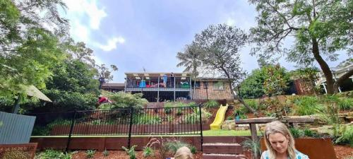 Fresh Perspective Landscapes Winmalee Blue Mountains landscape construction sloping block retaining paving timber stone wall terrace garden design 26