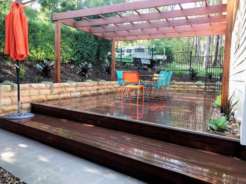 Glenbrook fresh perspective landscapes structural landscaping blue mountains landscape construction pergola timber planting 1
