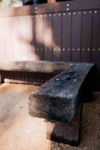 Railway Sleeper Seating