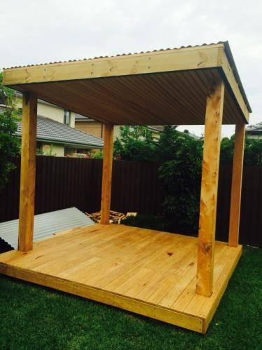 Timber Pergola, blue mountains landscape construction, structural landscaping, fresh perspective landscapes narrabeen