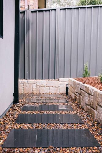 garden sandstone walls