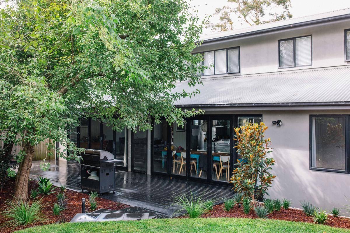 House with new Ekodeck veranda space