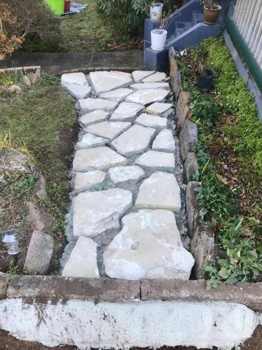Stone Work Paving Pathway, Blue Mountains Landscaping, Fresh Perspective Landscapes