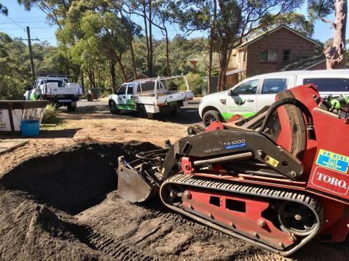 Springwood fresh perspective landscapes structural landscaping blue mountains landscape construction excavation turf pathway fence 1