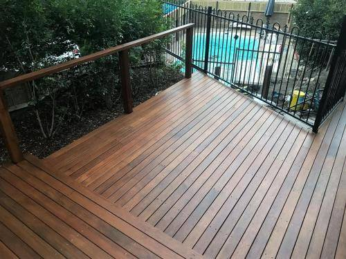 Springwood fresh perspective landscapes structural landscaping blue mountains landscape construction timber deck merbau travertine gate bamboo screen stairs17