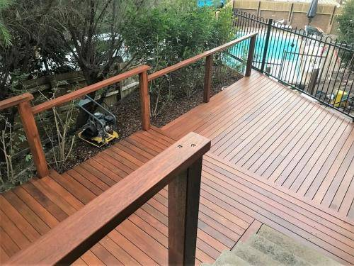 Springwood fresh perspective landscapes structural landscaping blue mountains landscape construction timber deck merbau travertine gate bamboo screen stairs18