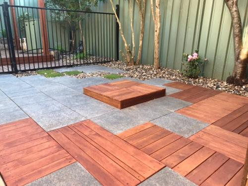 Tetris timber landscape construction blue mountains winmalee structural fresh perspective landscapes Springwood