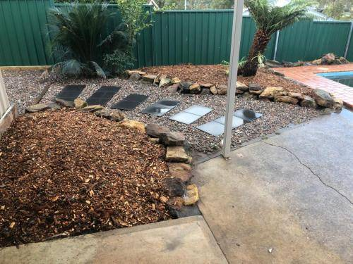 Winmalee fresh perspective landscapes structural landscaping blue mountains landscape construction excavation turf pathway retaining wall garden beds 1