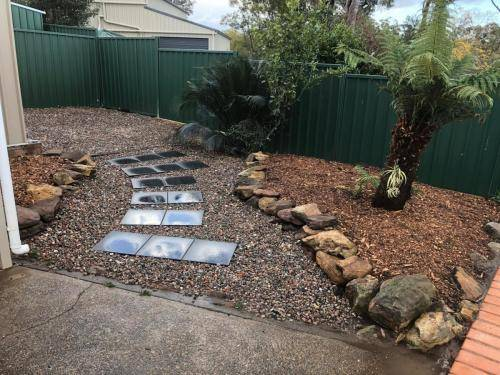 Winmalee fresh perspective landscapes structural landscaping blue mountains landscape construction excavation turf pathway retaining wall garden beds 2