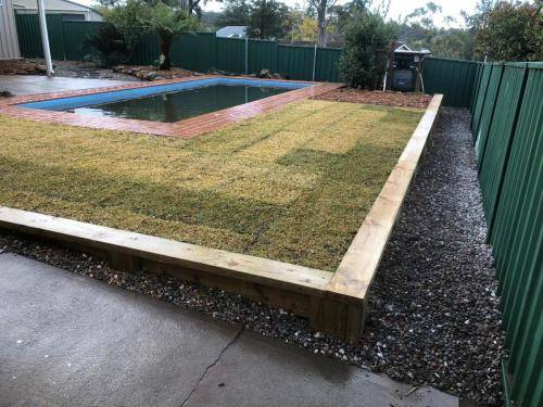 Winmalee fresh perspective landscapes structural landscaping blue mountains landscape construction excavation turf pathway retaining wall garden beds 4