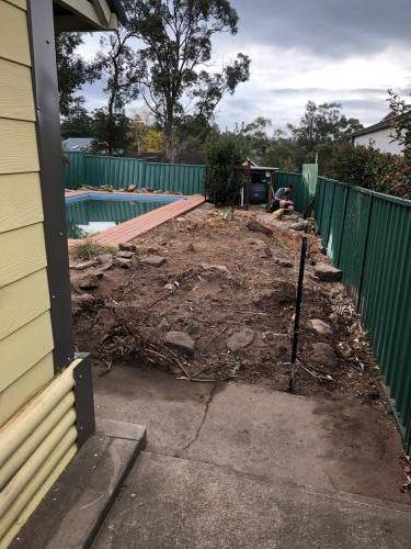 Winmalee fresh perspective landscapes structural landscaping blue mountains landscape construction excavation turf pathway retaining wall garden beds 7