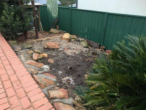 Winmalee fresh perspective landscapes structural landscaping blue mountains landscape construction excavation turf pathway retaining wall garden beds 8